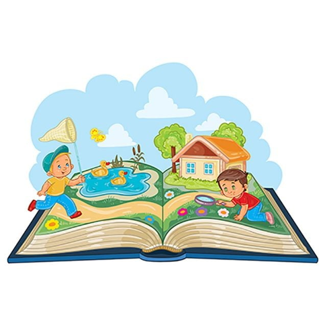 young children studying nature as an open book aventura baby biologia png e vetor para download