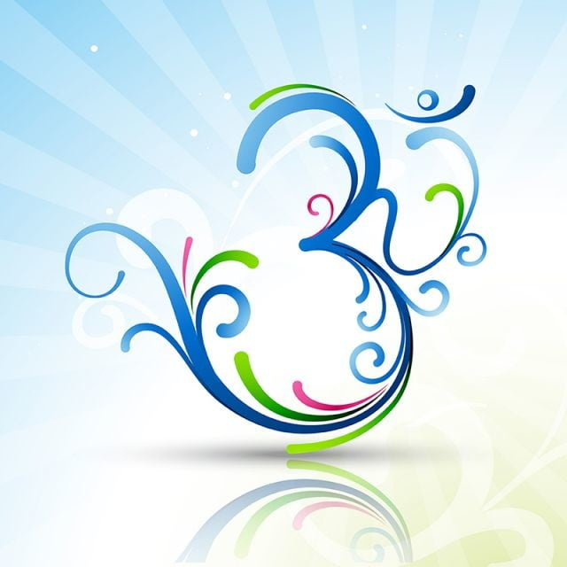 Beautiful Om Symbol Artistic Aum Beautiful Png And Vector For