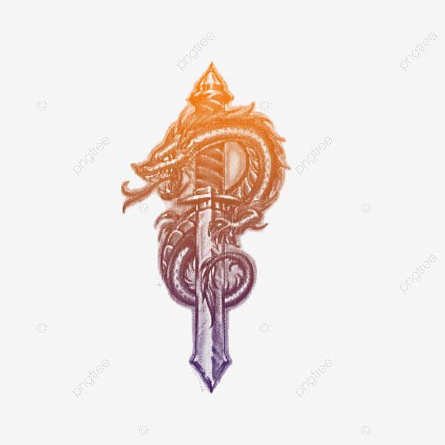 Dragon On Sword Tattoos, Tattoo, Temporary Tattoos, Tattoo