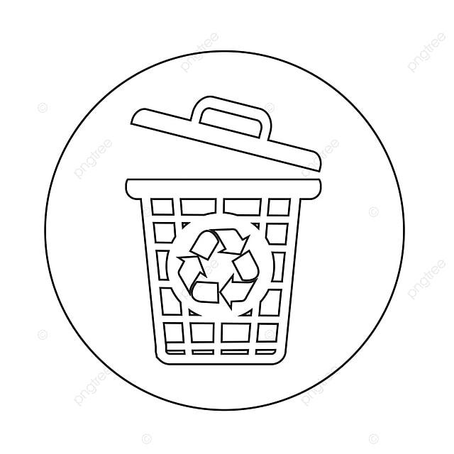 poubelle ic u00f4ne puis ic u00f4ne ordures png et vecteur pour