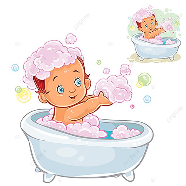 petit enfant prendre un bain de mousse bain b u00e9b u00e9 enfant
