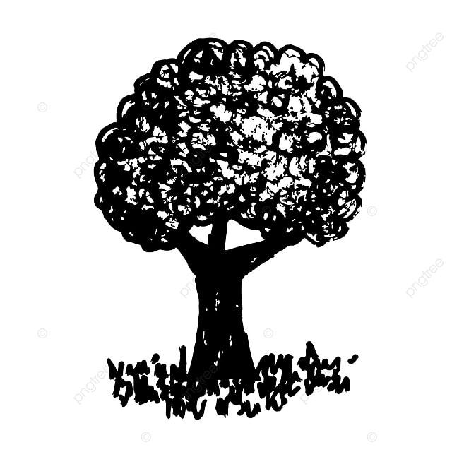 eff45a8987a3 Hand Drawn Tree Icon