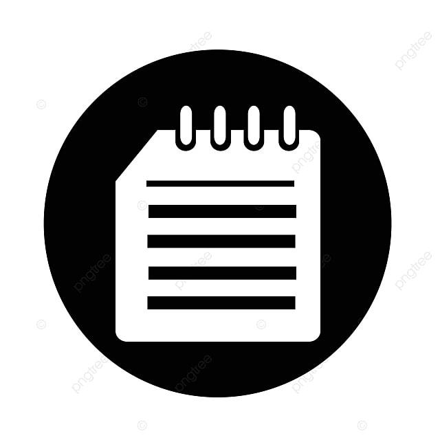 carnet ic u00f4ne cahier spirale binder png et vecteur pour