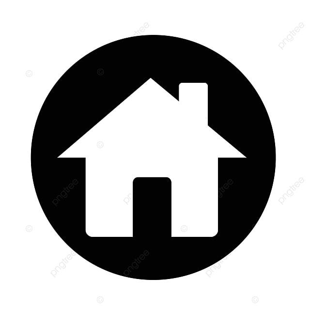 icono de la casa real estate casa icono vector png y