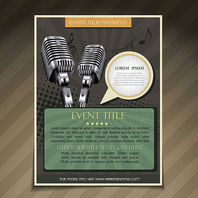 Event Poster Template, Abstract, Ad, Advertisement PNG and Vector
