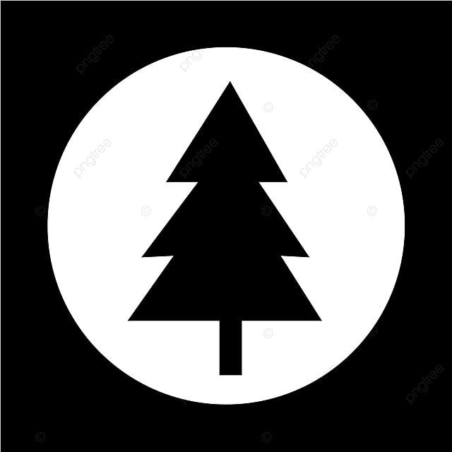 Gambar Pohon Natal Ikon Pohon Krismas Vektor Png Dan Vektor Untuk Muat Turun Percuma