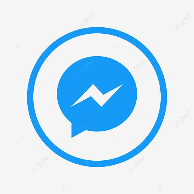 メッセンジャー ロゴ アイコン ソーシャルメディアのアイコンを設定