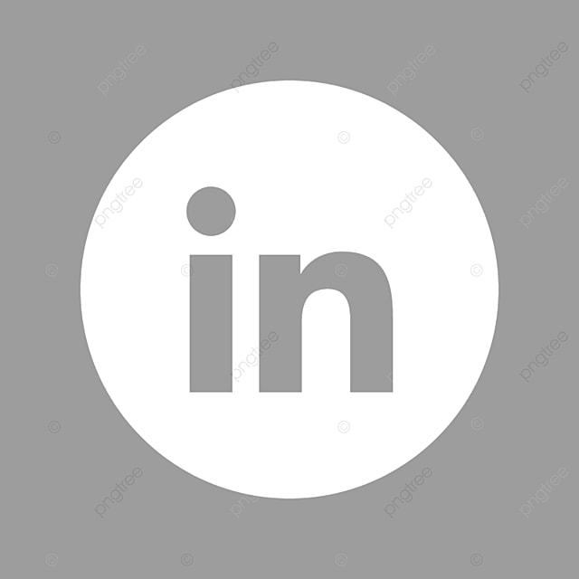 Linkedin White Icon Black And White Linkedin Logo