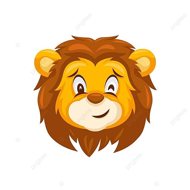 gambar cute wink singa wajah smiley tukar ilustrasi singa suara muka png dan vektor untuk muat turun percuma gambar cute wink singa wajah smiley
