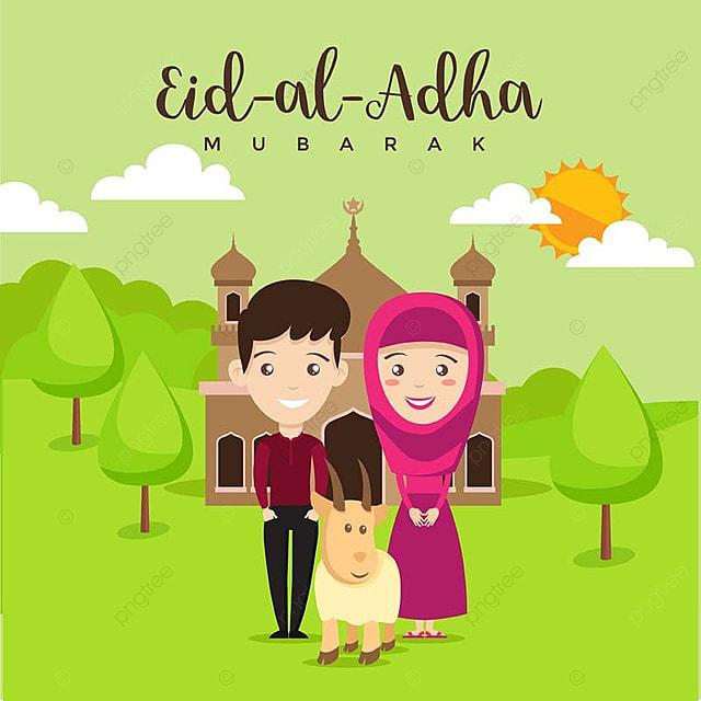 Eid mubarak from friend greeting card vector avatar hajj png and eid mubarak from friend greeting card vector avatar hajj png and vector m4hsunfo