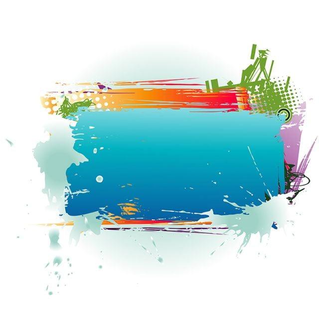 abstract color u00e9 encadr u00e9 abstract annoncer art png et