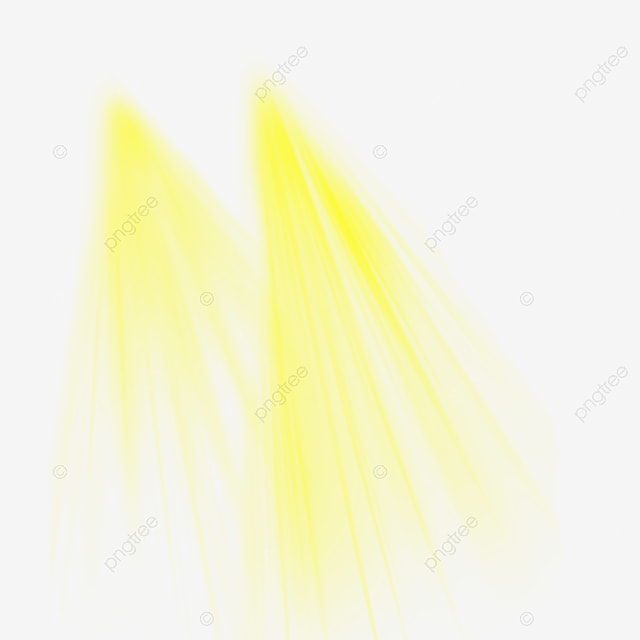 Yellow Sun Light Png Effect Psd Free, Light Png For Picsart, Light
