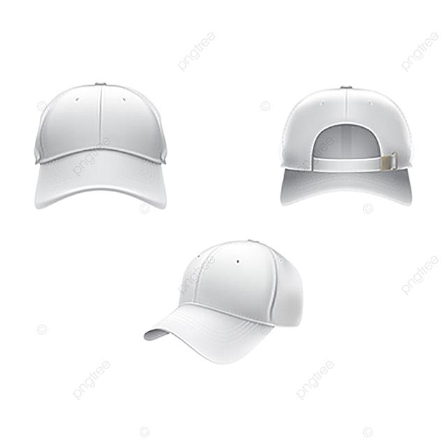 Vector ilustración realista de un textil blanco Gorra de béisbol FR Gratis  PNG y Vector fa8ddfca259