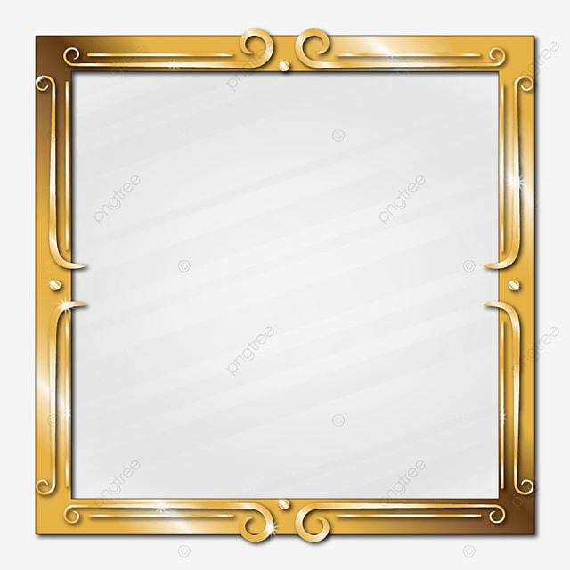 foto de Golden Elegante Cornice Vetro Effetto Frontiera Oro Oro