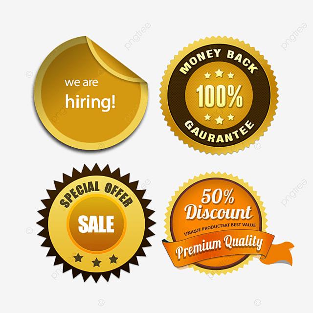 Gold Sticker Label Design Online Stickers Online Badge Online