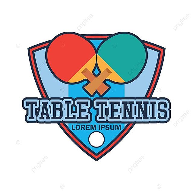 8f3f9a70a Tênis de mesa ping pong com espaço de texto   logotipo para SEU slogan    Marca ilustração vetorial Grátis PNG e Vetor