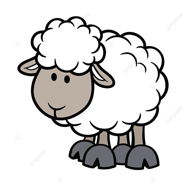 Caricature d animaux volaille et b tail caricature d - Image mouton dessin ...