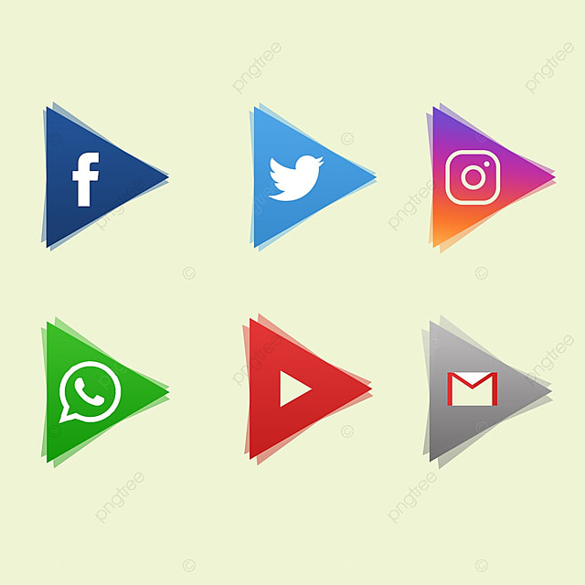 Icons Of Social Networking Sites Icons Icon Social Media Png And