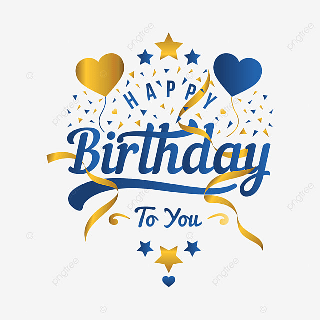 Happy Birthday Greeting Card And Banner Illustration