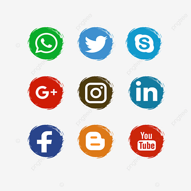 Iconos De Redes Sociales Iconos De Redes Sociales Facebook Wattsapp