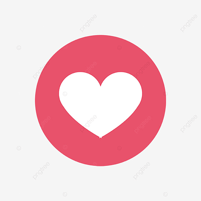 Facebook Love Icon Social Media Icon Png And Vector For Free Download