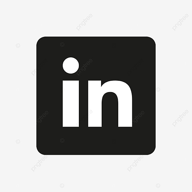 Linkedin Icon Black Linkedin Logo Linkedin Logo Png And