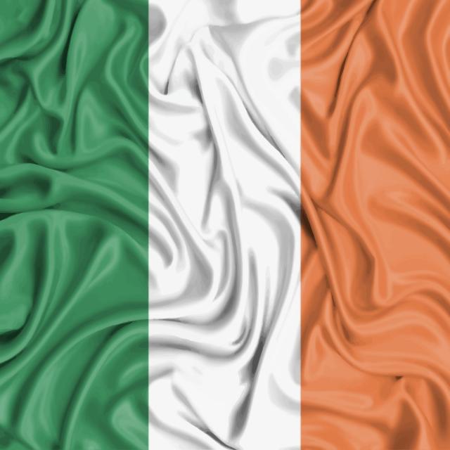 Bandera De Irlanda Bandera De Irlanda Mundo Orange PNG y Vector para ...