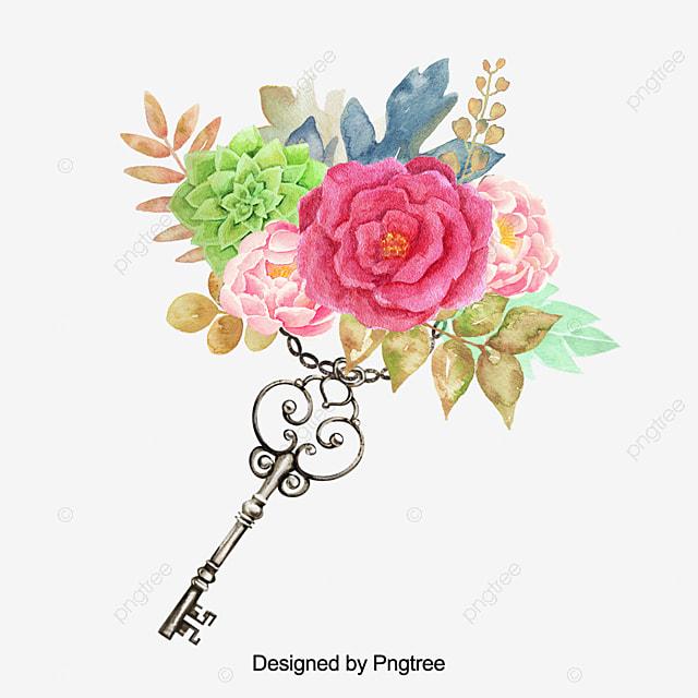 Cat Tangan Yang Indah Cat Air Bunga Mawar Bunga Bunga Bunga Yang Indah Png Transparan Gambar Clipart Dan File Psd Untuk Unduh Gratis