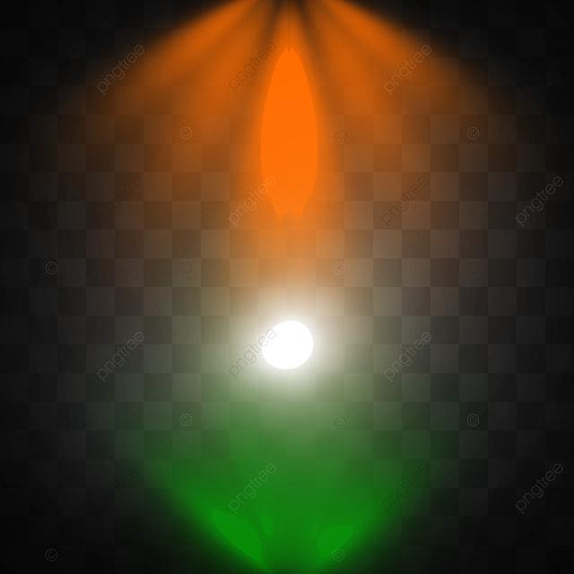 attention au drapeau indien verticale de couleurs spot