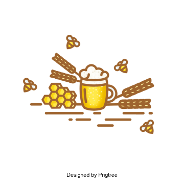 aesthetic cartoon beer summer drink, Beautiful, Exquisite, Cartoon PNG and PSD