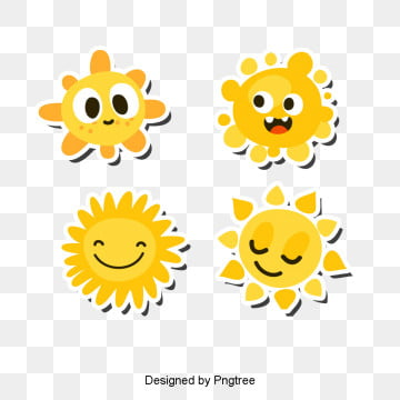 beautiful cartoon lovely hand painted sun, Beautiful, Cool, Cartoon PNG and PSD