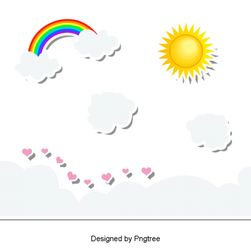 beautiful cartoon lovely hand painted sun, Beautiful, Cute, Cartoon PNG and PSD
