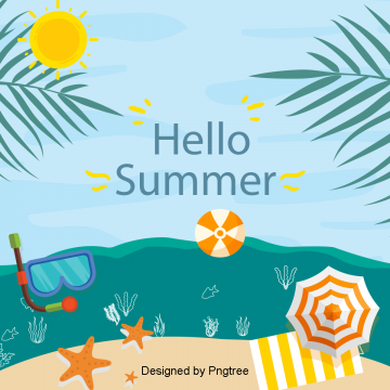beautiful cool  summer drinks holiday background, Beautiful, Cool,  PNG and PSD