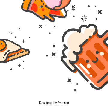 cartoon hand painted summer drink beer, Drinks, Beer, Cartoons PNG and PSD