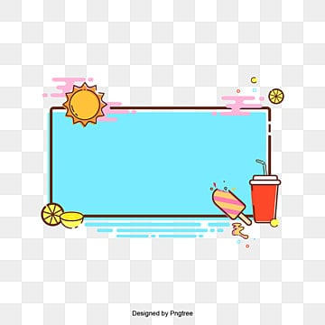 444057c84371 Free Download. Cartoon cute frame with lovely pattern