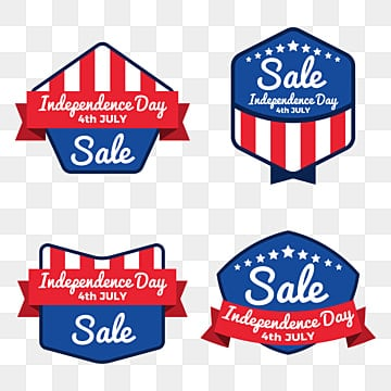 independence day of the usa sale banner template design, Poster, Layout, Logo PNG and Vector