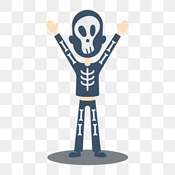 Horror Scary Skeleton Gray Gray Terror Terrible PNG Image And