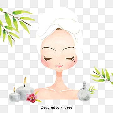 Beautiful Cartoon Hand Painted Beauty Beauty Skin Care Spa Health Aesthetic Cartoon Ly Png Transparent Clipart Image And Psd File For Free Download