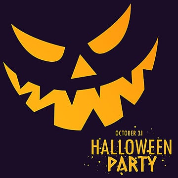 Halloween Poster Design PNG Images | Vector and PSD Files | Free