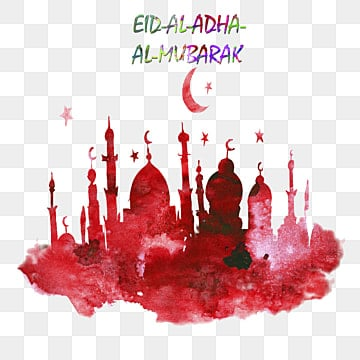 hand drawn vector of eid al adha mubarak festival of, Png, Famous, Festival PNG and PSD