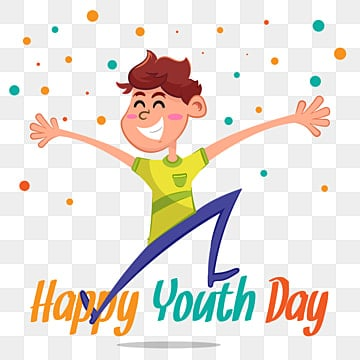 youth day background with happy boy, Kids, Children, World PNG and Vector