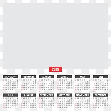 2019 Calendar Png Images Vectors And Psd Files Free Download On