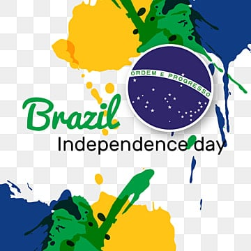 brazil independence day brazil color splashes background, Independence Day, Brazil Happy Independece Day, Splash PNG and Vector