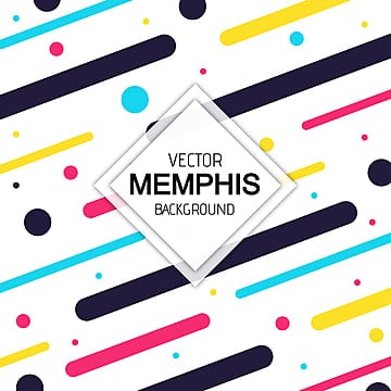 Memphis Pattern Png, Vector, PSD, and Clipart With