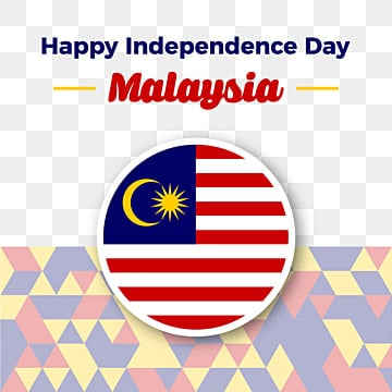 malaysia independence day vector illustration of malaysian flag, Malaysia Merdeka Day, Malaysia Independence Day, Malaysia Freedom PNG and Vector