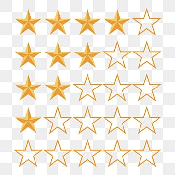 Vector Evaluation Board, Star Rating, Flattened, Business ...