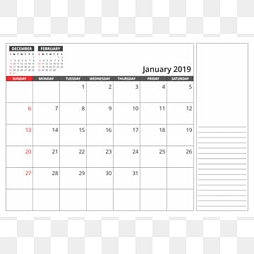 desk calendar january 2019 2019 calendar png png and vector