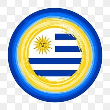 uruguay flag of circle brush stroke decoration, Uruguay Flag, Brush Stroke, Circle Brush Stroke PNG and Vector