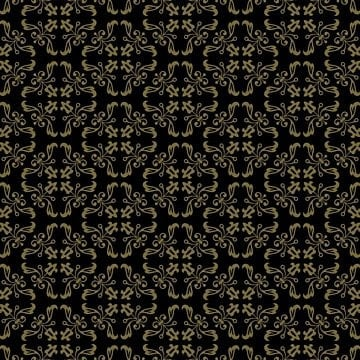 luxury ornamental background gold damask floral pattern royal wallpaper, Abstract, Antique, Background PNG and Vector