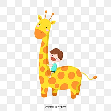 Cartoon Giraffe Png Images Vector And Psd Files Free Download On Pngtree